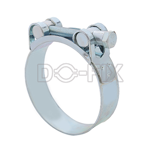 solid heavy duty hose clamp